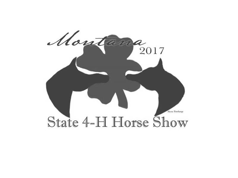 Logo for 2017 Montana State 4-H Horse Show