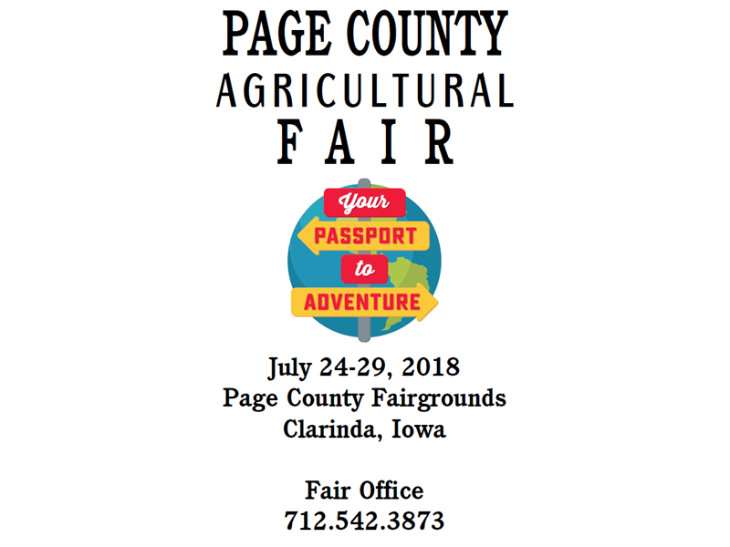 Logo for 2018 Page County Fair