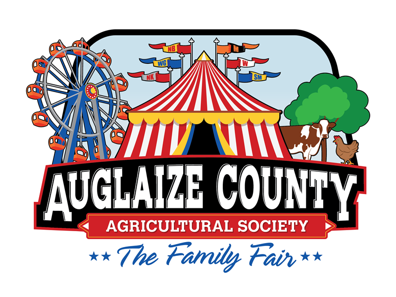 Logo for 2018 Auglaize County Fair