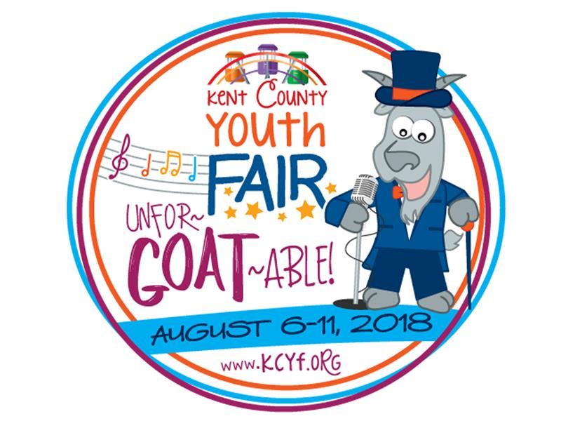 Logo for 2018 Kent County Youth Fair