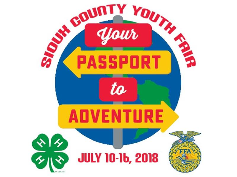 Logo for 2018 Sioux County Youth Fair