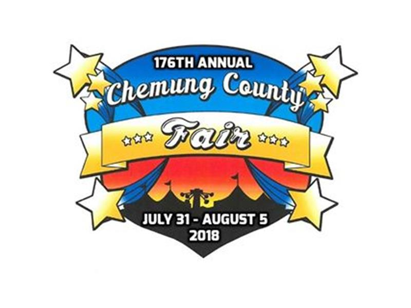 Logo for 2018 Chemung County Agricultural Fair