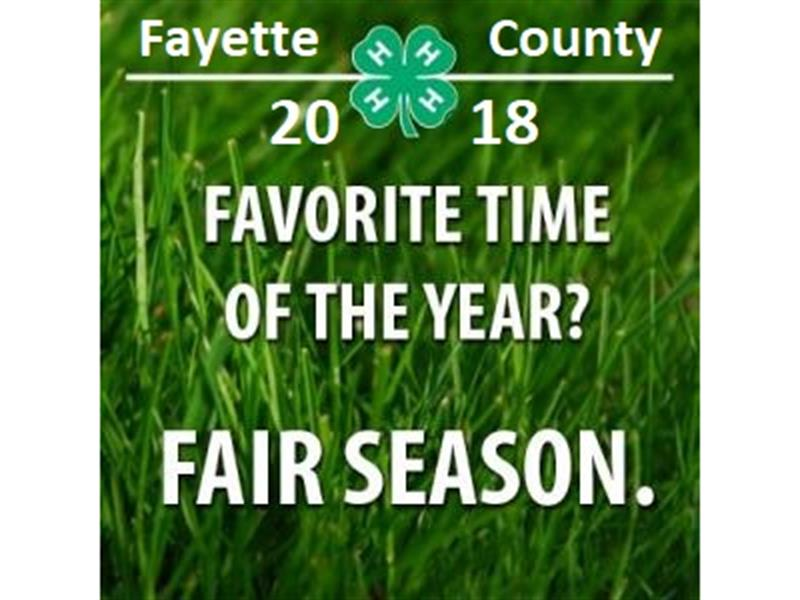 Logo for 2018 Fayette County Free Fair