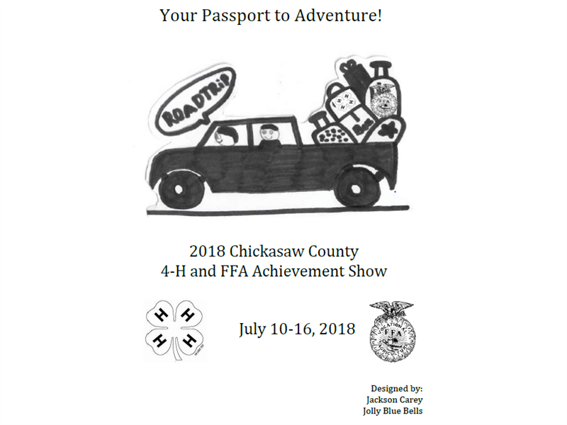 Logo for 2018 Chickasaw County 4-H & FFA Achievement Show