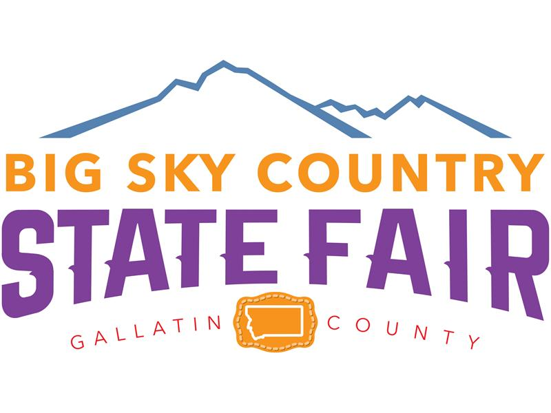 Logo for 2018 Big Sky Country State Fair