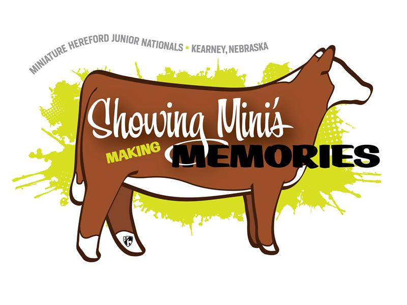 Logo for Miniature Hereford Junior Nationals 2018