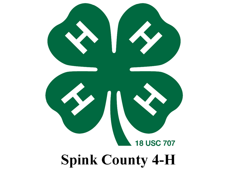 Logo for 2018 Spink County 4-H Horse Show