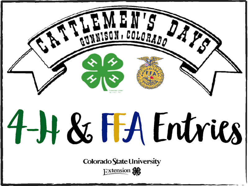 Logo for 2018 Cattlemen's Days (Youth Shows and Exhibits)