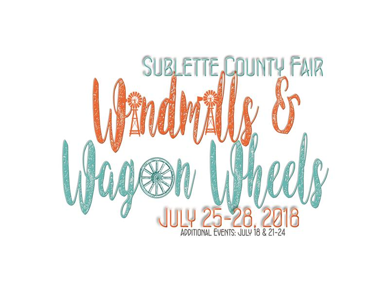 Logo for 2018 Sublette County Fair