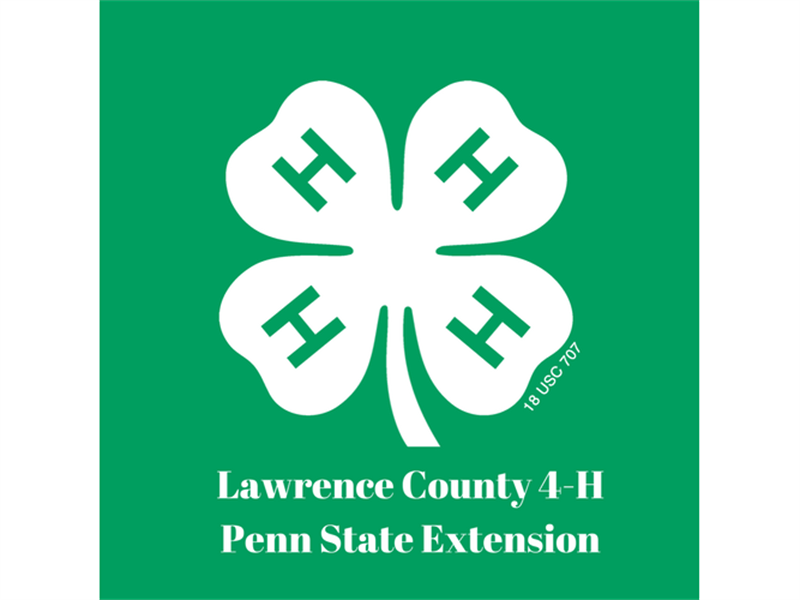 Logo for 2018 Lawrence County 4-H Horse Shows