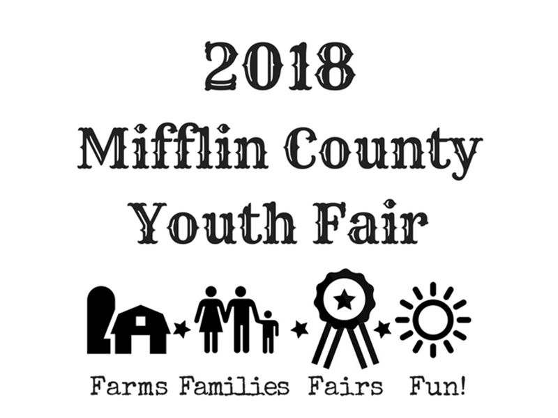 Logo for 2018 Mifflin County 4-H Horse Round-up