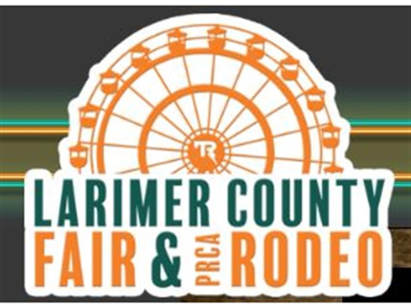 Logo for 2018 Larimer County Fair and Rodeo