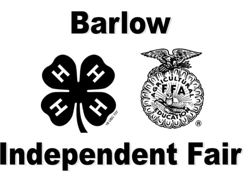 Logo for 2018 Barlow Independent Fair
