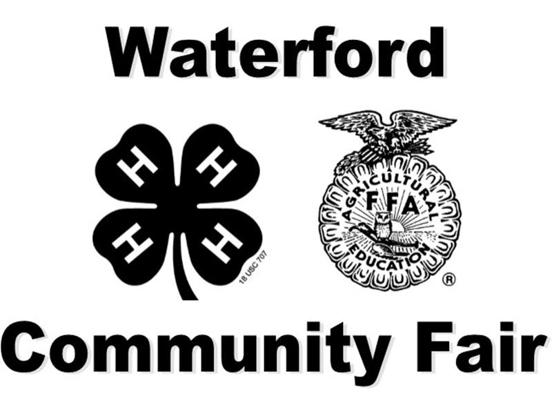 Logo for 2018 Waterford Community Fair