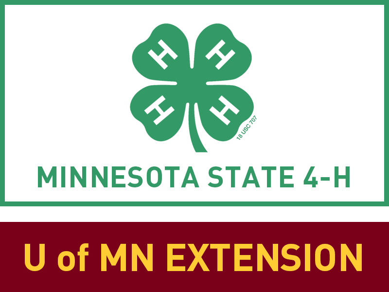 Logo for 2018 MN 4-H County Container