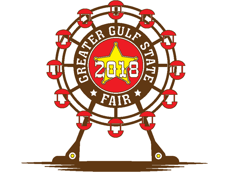Logo for 2018 Greater Gulf State Fair