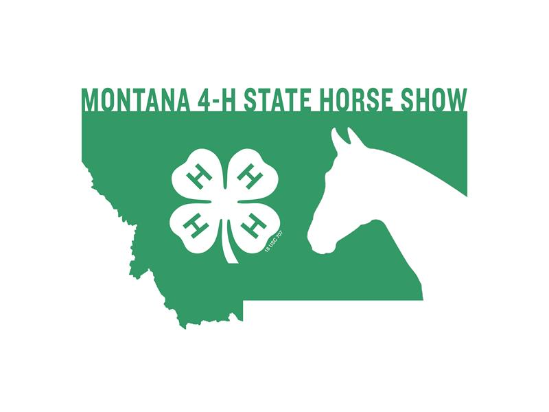 Logo for 2019 Montana 4-H State Horse Show