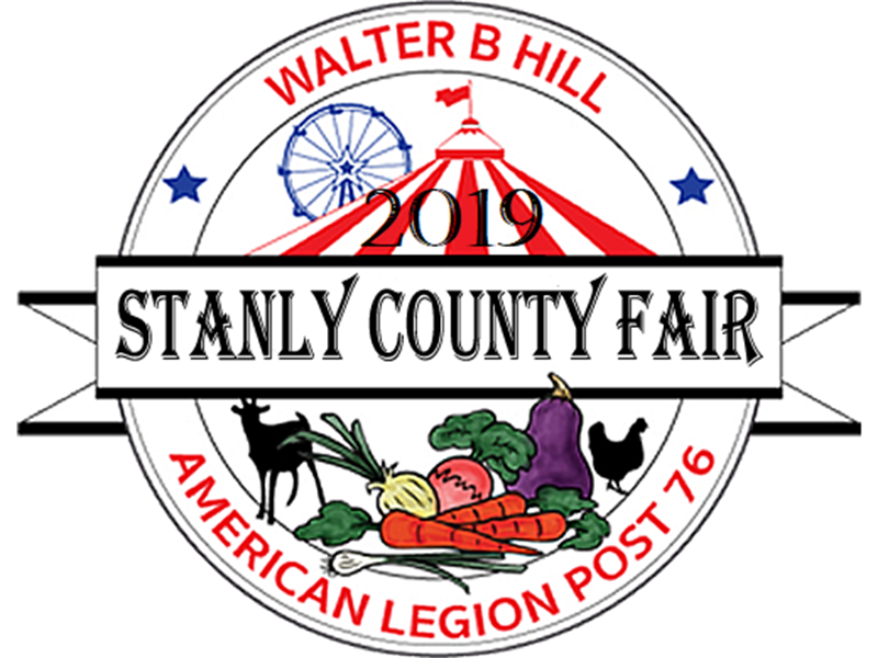 Logo for 2019 Stanly County Fair